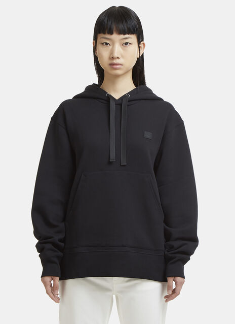 Ferris Face Motif Hooded Sweater