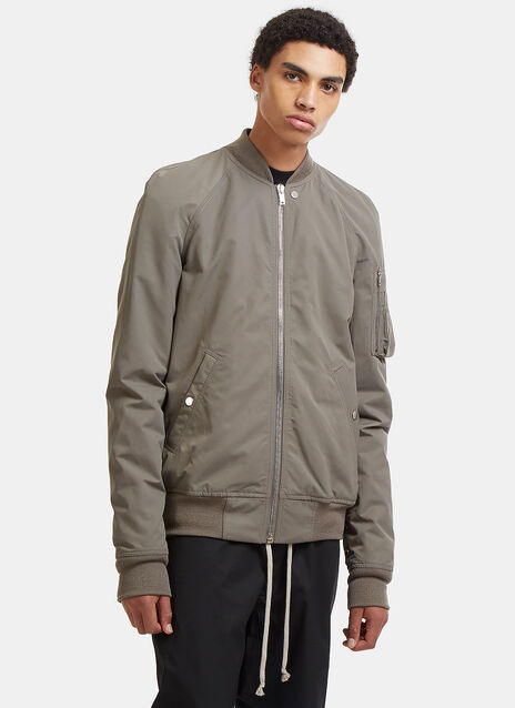 Rick Owens Raglan Flight Bomber Jacket