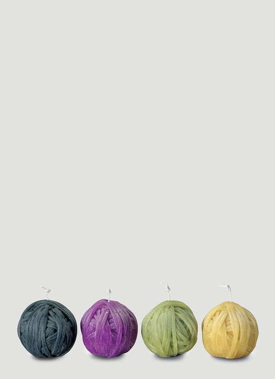 Missoni Home Four-Pack Gomitolo Candles 1