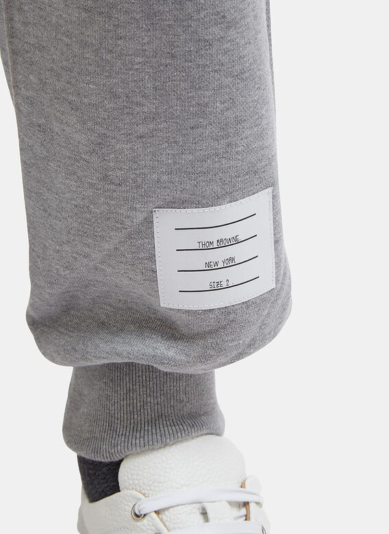Thom Browne CLASSIC SWEATPANT WITH ENGINEERED 4-BAR IN CLASSIC LOOP BACK 5