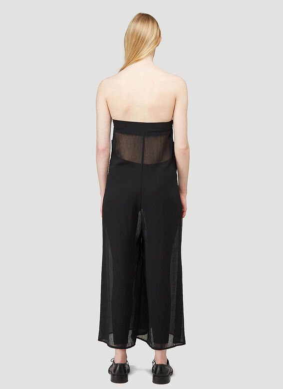ARO ARCHIVE Sheer Oversized Trousers as Sleeveless Jumpsuit 3