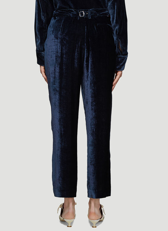 Sies Marjan Willa Fluid Corduroy Cropped Pants