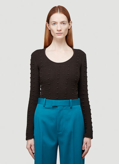 Bottega Veneta Textured-Knit Sweater