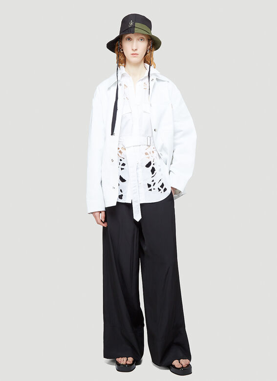 JW Anderson Cut-Out Bell Sleeve Shirt 2