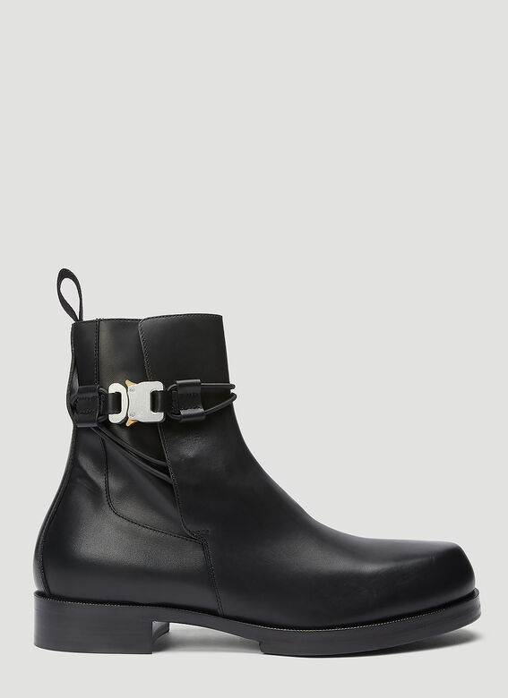 1017 ALYX 9SM LOW BUCKLE BOOT WITH LEATHER SOLE 1