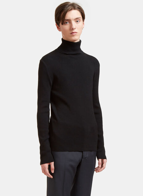 Aiezen AIEZEN Ribbed Polo Neck Sweater