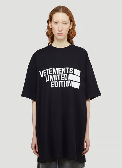 Vetements Logo Limited Edition T-Shirt