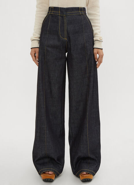 Marni Flared Denim Pants