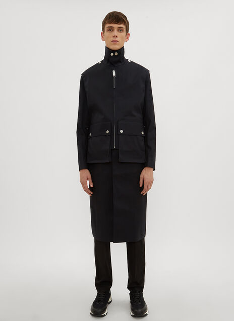 1017 ALYX 9SM X Mackintosh Layered Formal Coat