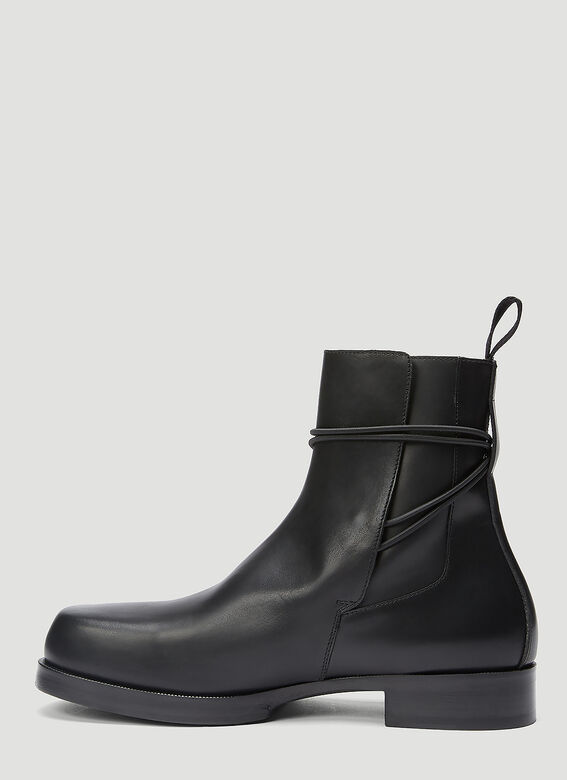 1017 ALYX 9SM LOW BUCKLE BOOT WITH LEATHER SOLE 3