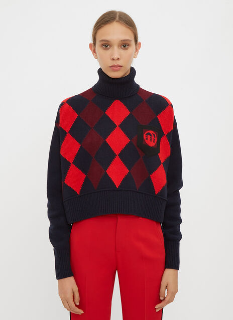 Miu Miu Wool Turtleneck