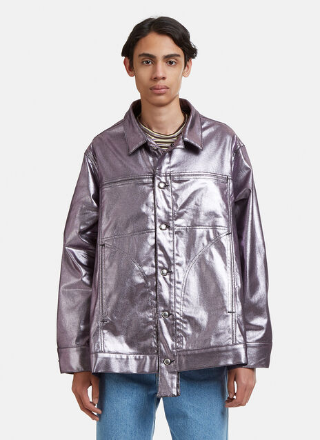 Eckhaus Latta Metallic Jacket