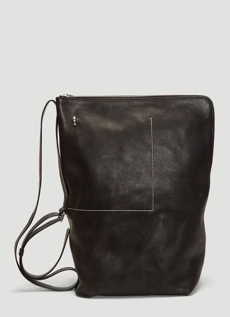Rick Owens Babel Bucket Backpack