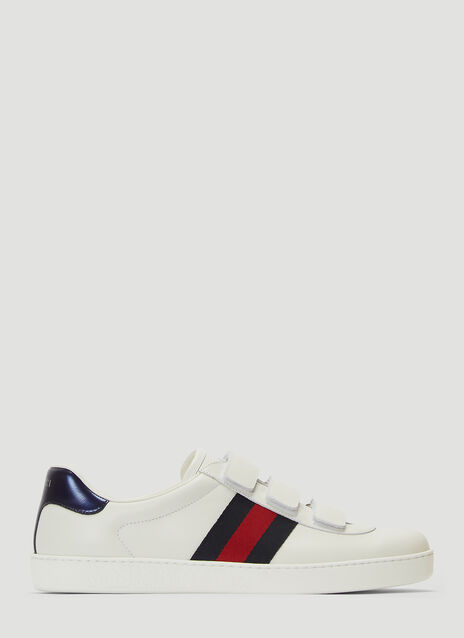 171c04e3046d9e Gucci Ace Touch Fastening Sneakers