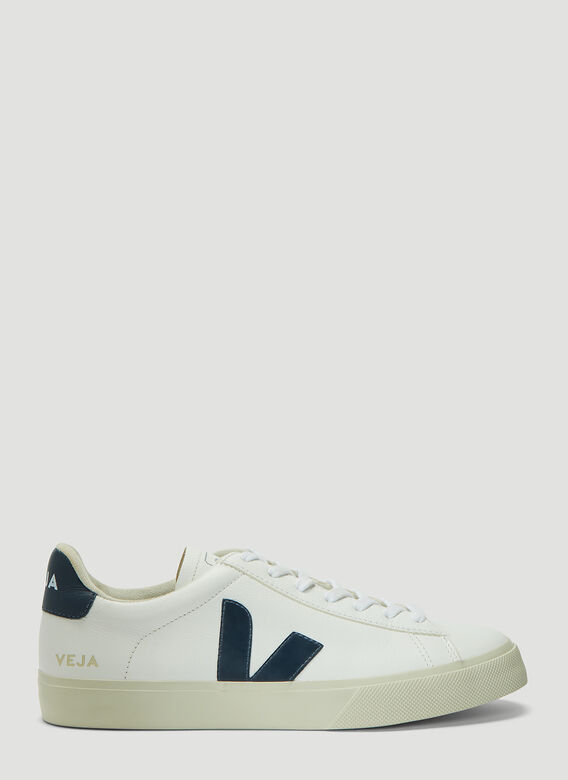 Veja Campo Leather Sneakers in White