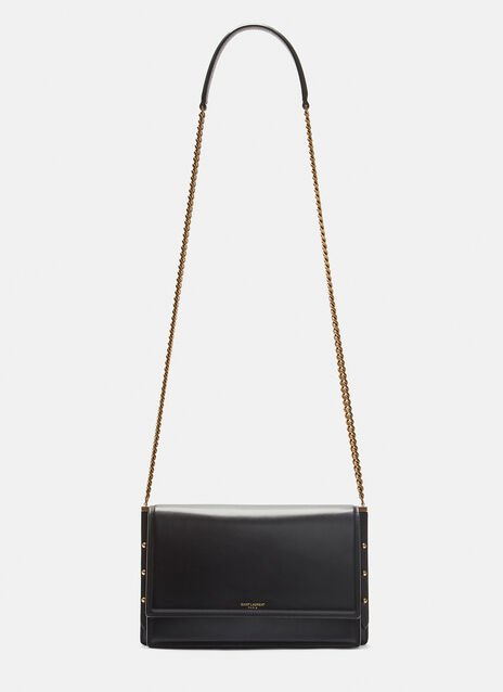 Saint Laurent Stud Side Chain Shoulder Bag