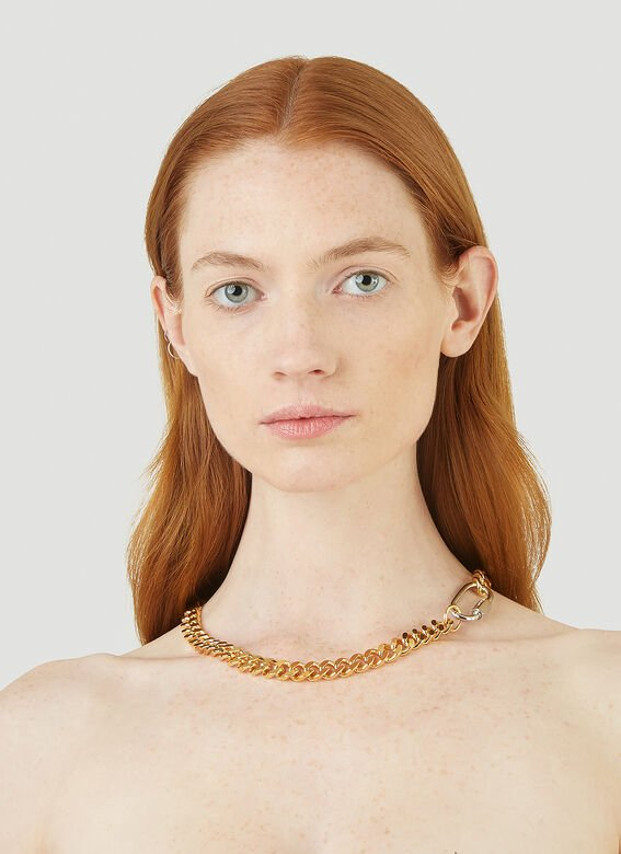 In Gold We Trust HEAVY CHAIN NECKLACE 2