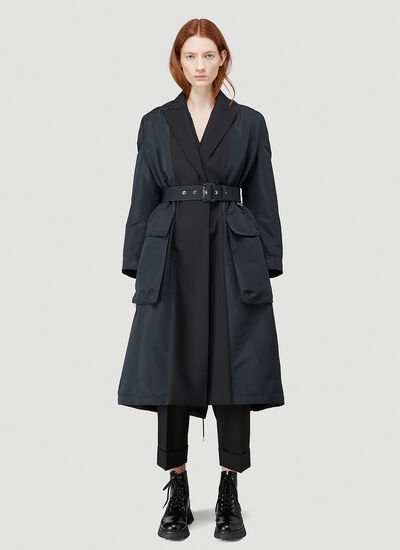 Alexander McQueen Spliced Trench Coat