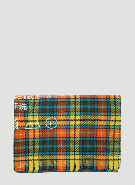 Acne Studios Cassiar Check Wool Scarf