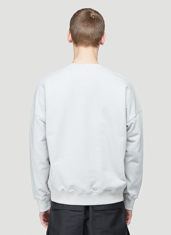 Rick Owens X Champion PULLOVER SWEAT (OYSTER) 4