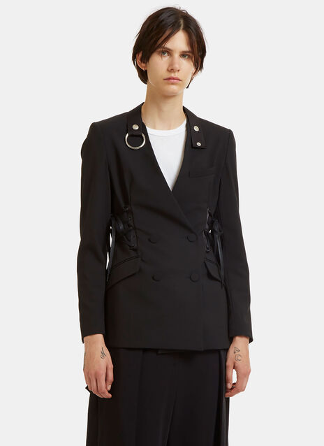 Corseted Tailored Blazer Jacket