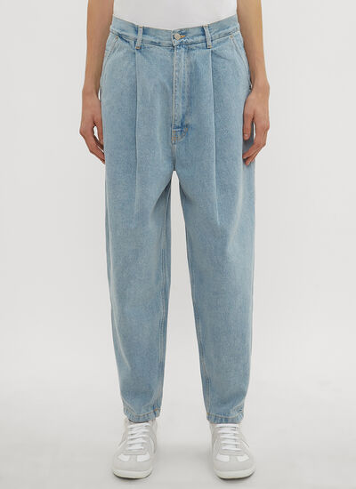 Hed Mayner Pleated Jeans