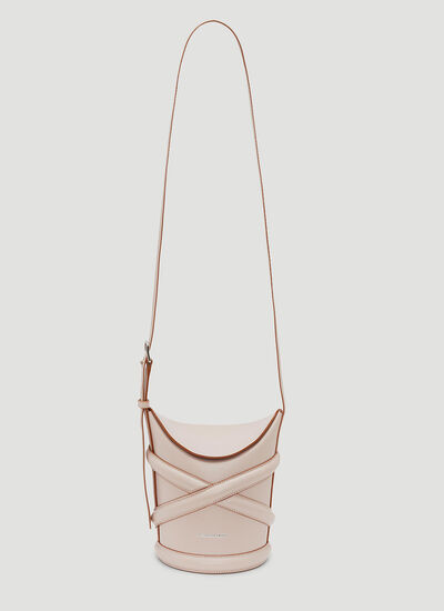 Alexander McQueen The Curve Small Shoulder Bag