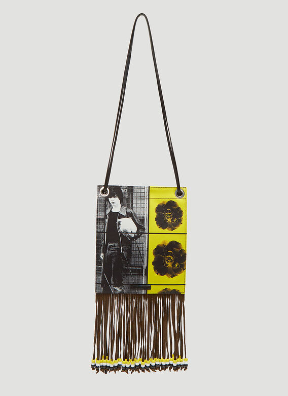JW Anderson X Gilbert & George Neck Pouch