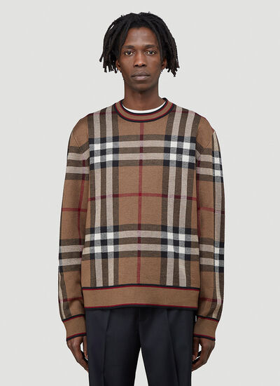 Burberry Naylor House-Check Sweater
