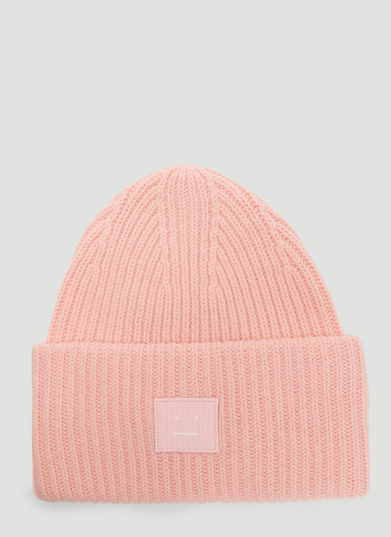 67c779b67 Acne Studios Pansy N Face Knit Hat in Pink   LN-CC