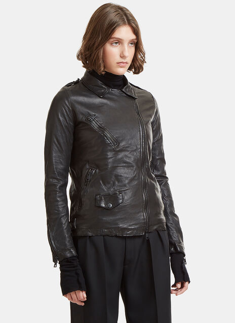 Giorgio Brato Perfecto Leather Jacket