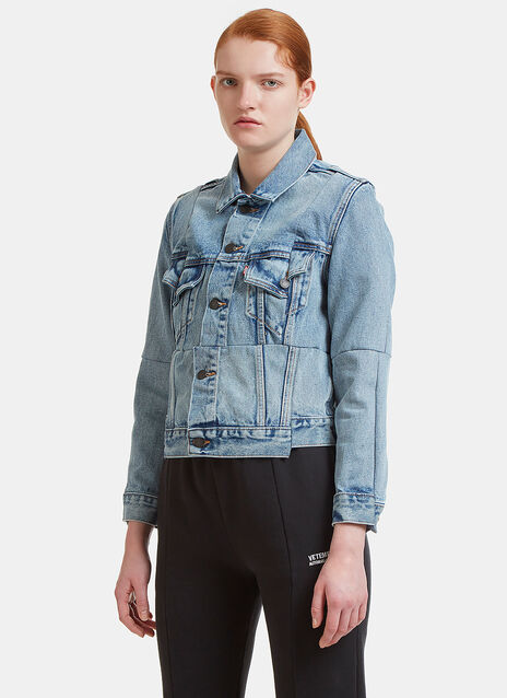 Vetements X Levi Reworked Denim Jacket