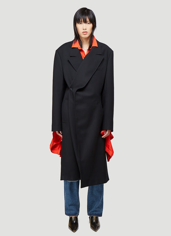 Y/Project CLASSIC TWISTED LAPEL COAT 1