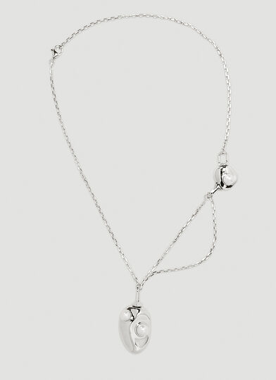 PUBLISHED BY Delicate Bones Necklace Four Necklace in Silver