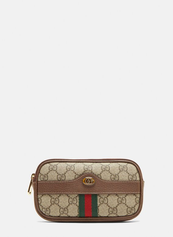 acf596767c14 Gucci Ophidia GG Belted Iphone Case in Brown | LN-CC