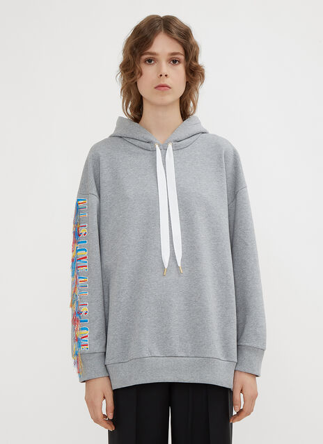 Stella McCartney All Is Love Loose Threads Sweatshirt