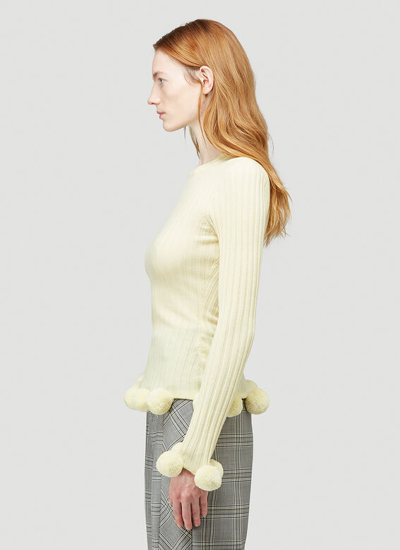 JW Anderson Pompom Ribbed Sweater 3