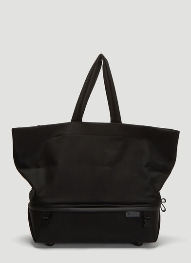 Coete&Ciel Amu Coated Canvas Tote Bag in Black