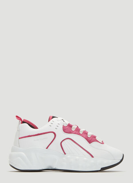Acne Studios Manhattan Technical Leather Sneakers