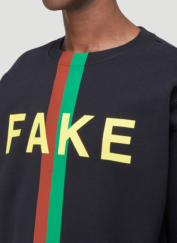 Gucci NOT FAKE SWEATSHIRT 5