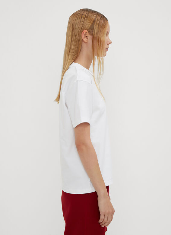Vetements Fitted Inside Out T-Shirt