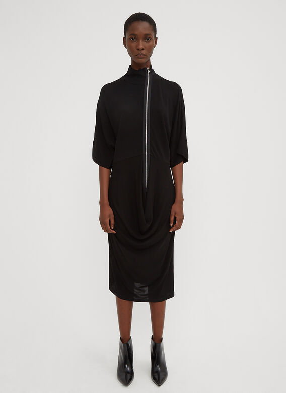 draped-skirt-dress-in-black by jw-anderson