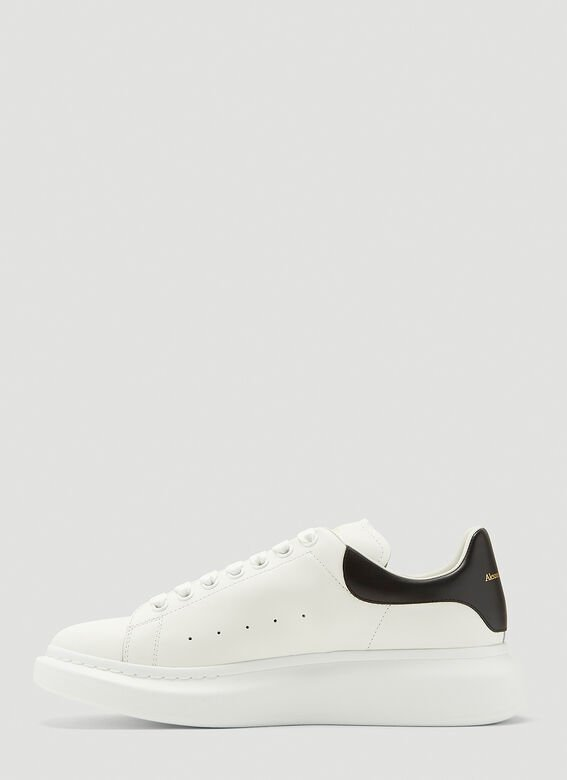 Alexander McQueen LARRY/LARRY LEATHER UPPER AND RU WHITE/BLACK 3