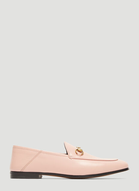 Gucci Brixton Leather Moccasin Loafer