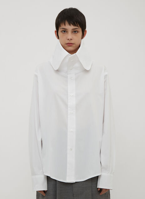 Vaquera High Collar Shirt