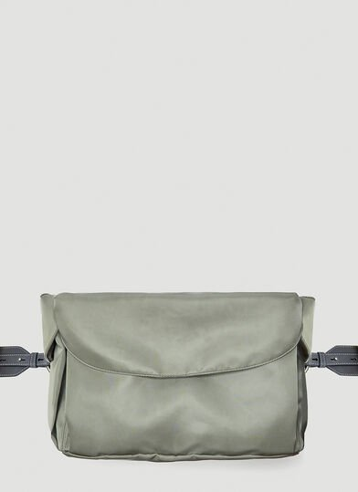 질 샌더 Jil Sander Hike Medium Belt Bag in Black