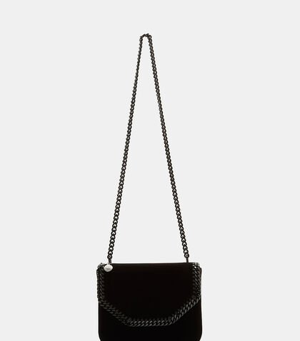 Velvet Falabella Box Shoulder Bag
