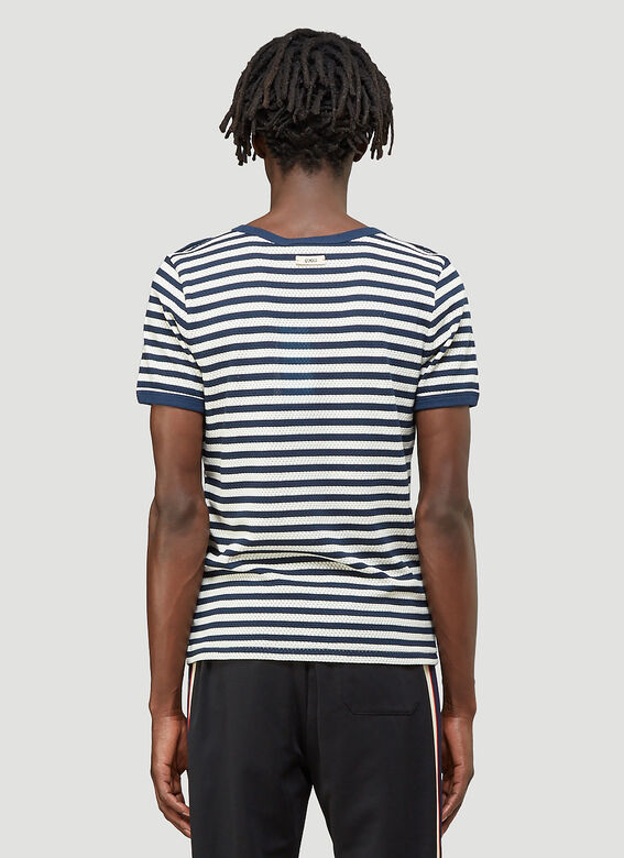 Gucci X Disney Striped T-Shirt 4