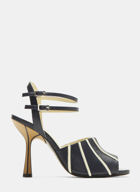 Marni Striped Heels