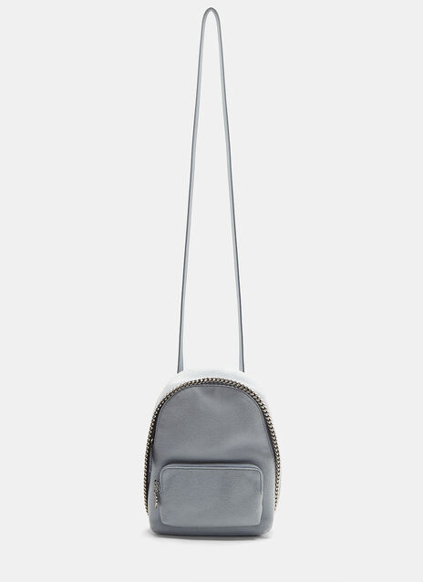 Stella McCartney Mini Shaggy Deer Falabella Backpack